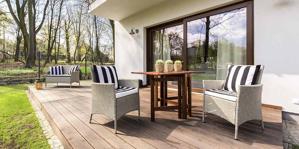 Skab det perfekte udendørsareal ved din hjem